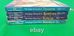Les Chroniques Zagor Full Set 1-4! Fighting Fantasy Puffin Demonlord #1