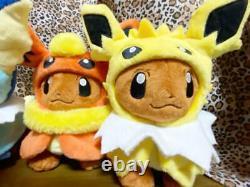 Limité À Pokemon Center Eevee Poncho 8 Jouets En Peluche Set Full Comp