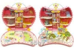 Little Twin Stars Sanrio Tsukino Maison De Lune Jouet Spécial Ensemble Complet Japon 1996/2003