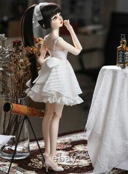 Lorina Lolita Pretty Girl Jeunesse Ensemble Complet Vêtements Chaussures Perruque 1/3 Bjd Doll Toy Dhl