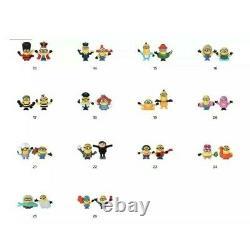 Mcdonalds Happy Meal Toy Caractères Minions 2021 Inc Rare Gold-combine Affranchissement