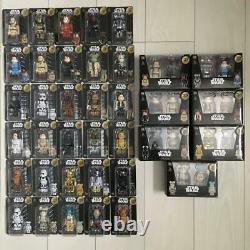 Medicom Star Wars Ours En Briques Set Complet De # 1-30 + 31-37 Paire Boîte Ensemble Complet
