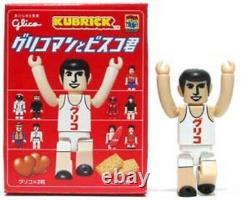 Medicom Toy Glico Man Bisco Kun Kubrick Figure Full Set 19 Be@rbrick Kaws Bape G