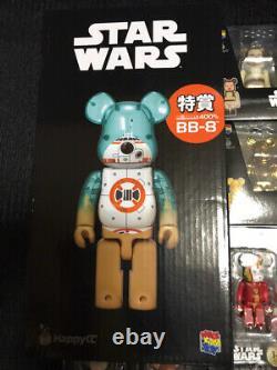 Medicom Toy Star Wars Be@rbrick 400% 100% Figure Character Doll Full Set Rare