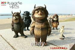 Medicom Toy Where The Wild Things Are Kaiju Monster 7 Figure Full Set Japon D7