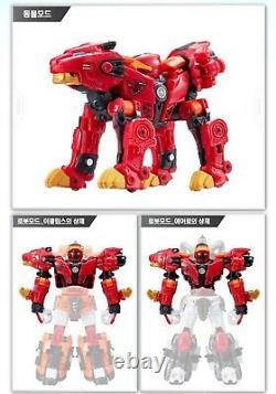 Metalions Leo, Scorpion, Bélier, Taurus -intergration Transformer Toy Robots Full Set