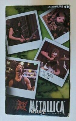 Metallica Harvesters Of Sorrow Flambant Nouveau Mcfarlane Toys Full Band Box Set Stage
