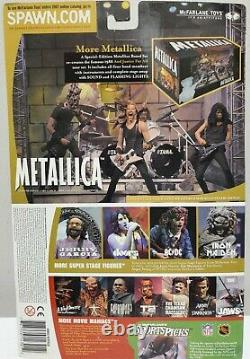 Metallica Harvesters Of Sorrow Mcfarlane Toys Super Stage Figures Full Set Of 4