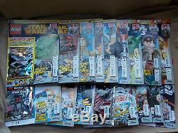 Monnaie Ensemble Complet Du Royaume-uni Lego Star Wars Magazine Edns 1-58 Et Lego Tous Jouets Cadeaux Paquet