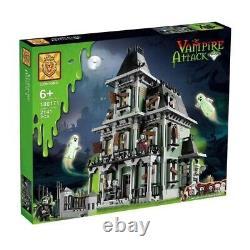 Monster Fighters Haunted House Full Set 2141 Pcs Building Blocks Jouets Gratuits Pour Adolescents