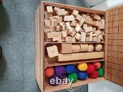 Montessori Jouet Éducatif. En Bois, Ensemble Complet
