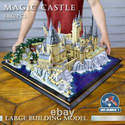 Mould King 22004 Créateur Jouets Full Hogwarts Castle Set Blocs De Construction 6778pcs