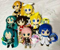 Nendoroid Peluche Série De Jouets Hatsune Miku Ensemble Cadeau De 8 Full Set Gift Japon