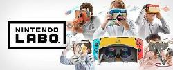 Nintendo Switch Labo Vr Kit (full Set) Nouveau Toy-con 04 Complete Bundle Presale