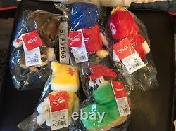 Nintendo Tokyo Exclusive Collection Ensemble Complet Mario Soft Toys Model A B C D & E