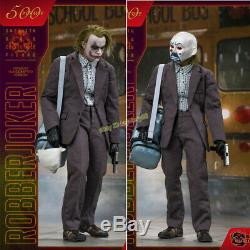 Noir Jouets Robber Joker Joker Action Figure Modèle 1/6 Ensemble Complet En Stock