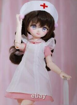 Nouveau 1/4 Bjd Resin Doll Nude Anime Figurine Full-set Msd Resin Toy Gift For Girls