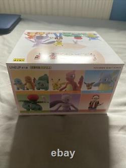 Nouveau Bandai Pokemon Scale World Kanto Complete Box Set 6 Packs 11 Figurines Pikachu