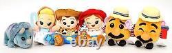 Nouveau Disney Parks Wishables Toy Story Mania! Série Ensemble De 6 Peluches Complet Avec Variante