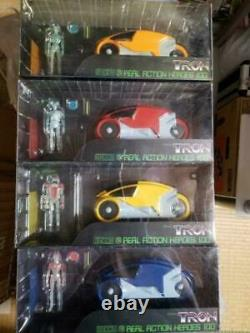 Nouveau Medicom Toy Real Action Heroes 100 Tron Japan Rare Unopened Full Set