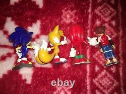 Officiel 1.5 Sonic X Sonic Figure Toy Sega Toys 2003 Japon Promo Ensemble Complet De 13