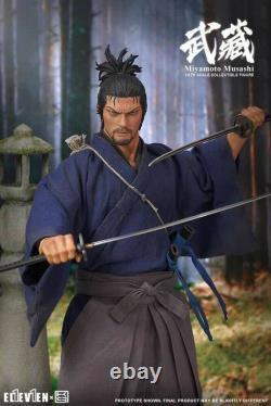 Onze Kai Studio Miyamoto Musashi 1/6 Figurines Set Full Set Collection Jouets