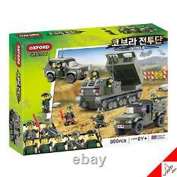 Oxford Cobra Combatant 7-bricks Full Set / Brick Building Block Assembly Kit Jouet