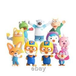 Pororo Pororo And Friends Real Figure (9 Types) Kids Toy Famous Anime Coréen