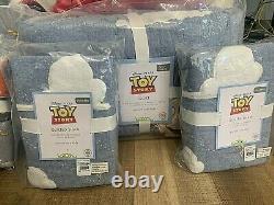 Pottery Barn Kids Disney Pixar Toy Story Queen Quilt Shams Sheet Set