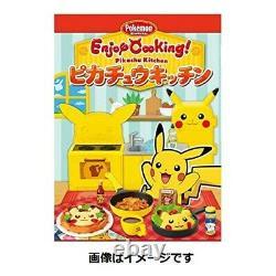 Profitez De La Cuisine! Pikachu Kitchen 8 Pcs Full Set Box Candy Toy Pokemon Avec Suivi