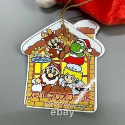 Rare 1993 Super Mario World Set De Noël Full Nintendo Plush Jouet De Poupée Banpresto