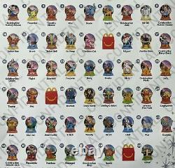 Rare! 2021 Full Set De 50 Jouets Walt Disney World 50e Anniversaire Mcdonalds