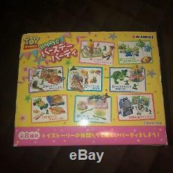 Re-ment Disney Toy Story Bonne Fête D'anniversaire 8 Rare Ensemble Complet 2010 F / S Japon