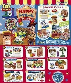 Re-ment Miniature Toy Story Toy Bonne Chambre 8 Pièces Ensemble Complet Box