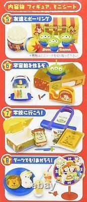 Ré-ment Toy Story Disney Happy Room Miniature Figures Box Full Set 8 Complet
