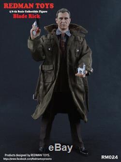 Redman Jouets Rm024 Lame Rick 1/6 Échelle Homme Sets De Hot Action Figure Toy