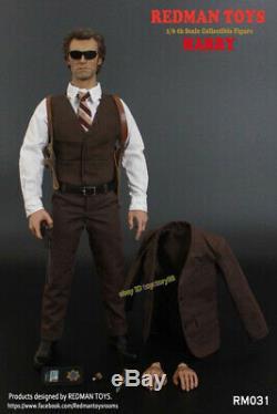 Redman Jouets Rm031 1/6 Inspecteur Harry Homme Action Figure Set Complet Modèle En Stock