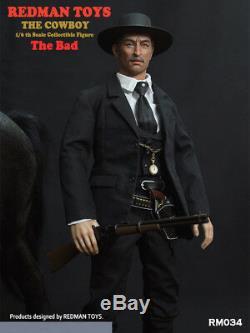 Redman Jouets Rm034 Le Cowboy The Bad 1/6 Full Scale Sets Homme Figure Collection