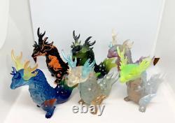 Rinkaku Frog Tree Vinyl Toy Capsule Toy Box Version Complète Complète 12 Types Ensemble
