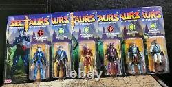 Sectaurs Warriors Of Simbion Ensemble Complet De 6 Wave 1 Zica Toys Dargon 1\18 Échelle