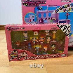 Sega Toys Powerpuff Girls Figure Set Girls Nice Full House Collection Used Japon