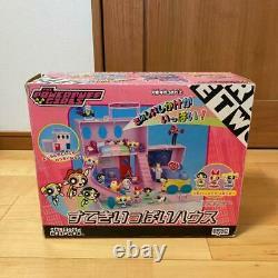 Sega Toys Powerpuff Girls Figure Set Nice Full House Collection