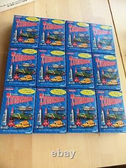 Série Konami Classic Thunderbirds Ensemble Complet X12 Boîtes Scellées 2004 & Boîte Orginale