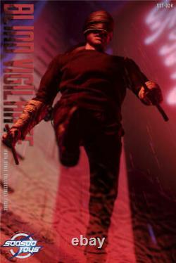 Soosootoys 16 Blind Vigilante 12'' Male Soldier Figure Sst024 Full Set Toy