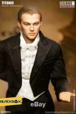 Stock Blackbox 1/6 Bbt9014a Jack Leonardo Man Suit Ver. Figure Ensemble Complet De Jouets