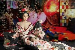 Super Duck Set052 1/6 Japonese Geisha Girl Set Pour S'adapter 12'' Phicen Figure USA