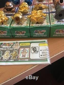 Super Mario 64 Metal Collection Figure Roi Bobomb Nintendo Toy Rare N64 Fullset