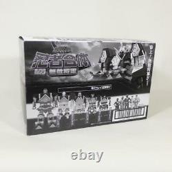 Super Mini-pla Ninja Gattai Muteki Shogun Ensemble Complet De 5 Candy Toy Japon Nouveau
