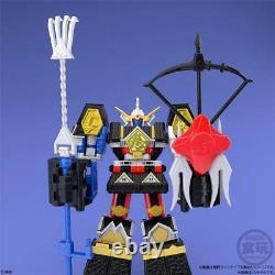 Super Mini-pla Ninja Gattai Muteki Shogun Full Set Of 5 Candy Toy Withtracking New