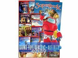 Superbook Gizmo Toy Saison 3 Ensemble Complet 13 Épisodes + Livre D'activités